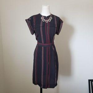 Loft Tie Waist Dress|Great for the office